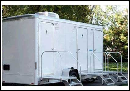 Rent Restroom Trailers in Central Kentucky