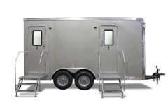 Rental store for PORTABLE 2 UNIT RESTROOM TRAILER in Lexington KY