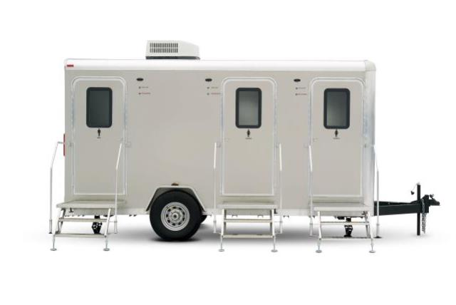 Where to find PORTABLE 3 UNIT RESTROOM TRAILER in Lexington