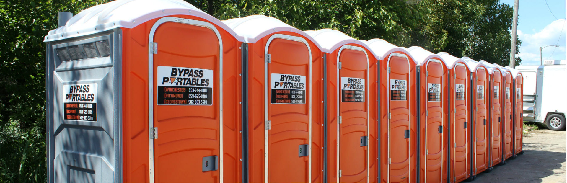 Portable Restroom Rentals in Georgetown, Winchester, Richmond KY