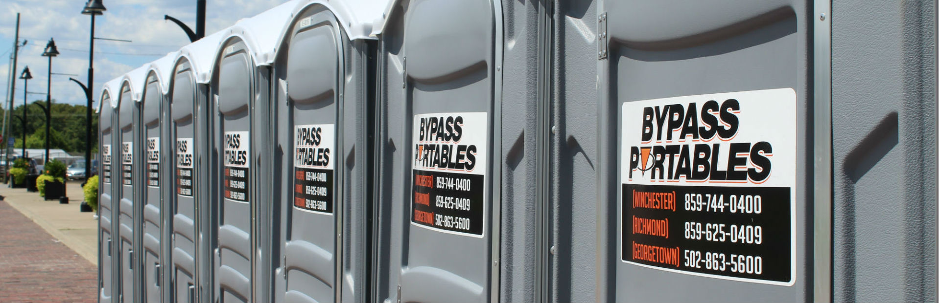 Port-a-Potty Rentals in Georgetown, Winchester, Richmond KY